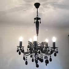 statement lighting. Black Chandelier - Statement Light Fitting GOOD CONDITION £25 ONO Lighting T