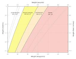 Weight Chart In Kg According To Height Body Mass Index Wikipedia