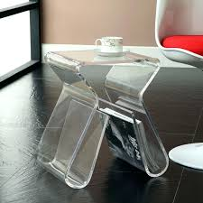 Acrylic Trunk Coffee Table Lucite For Living Room Clear