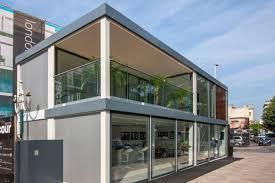 prefab office buildings cost. Bauhu Flat Pack Prefabricated Modular Cube Buildings Prefab Office Cost A