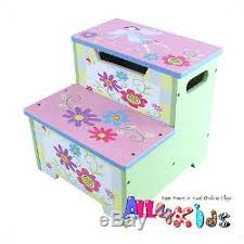 painted kids furniture. contemporary furniture princess hand painted colorful toddler step stool toy storage box kids  furniture for painted l