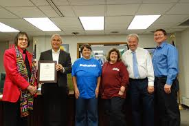 lake county ohio > home lake county board of dd deepwood ms beth falkner brown and participants in the laketran employment program were present to accept the resolution