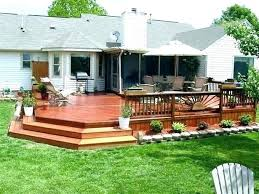 Backyard Deck Design Ideas Beauteous Backyard Deck Ideas Backyard Deck Design Ideas Small Backyard Deck