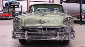 1956 Chevy BelAir Green - YouTube