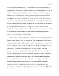 thesis driven essay on book quotmontana quot by larry watson english