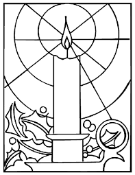 Small Picture Christmas Candle Coloring Page crayolacom