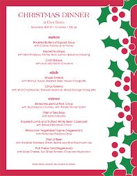 Christmas Program Theme Christmas Menu Template And Designs Musthavemenus