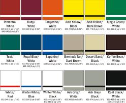 Rowmark Ada Alternative Color Chart Sign Colors Cab Signs