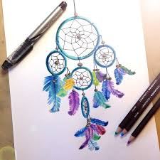 Colorful Dream Catcher Tumblr owlarts Felt inspired to draw a dreamcatcher and the 67
