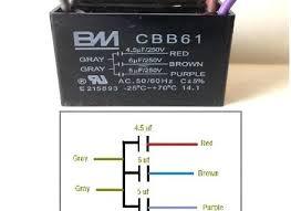 wire diagram for cbb61 capacitor fiat