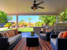 Outdoor Living Room Neutral Contemporary Outdoor Living Room Design With Black Rattan