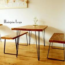 jh mech hairpin metal coffee table legs