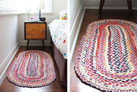 colorful diy rug
