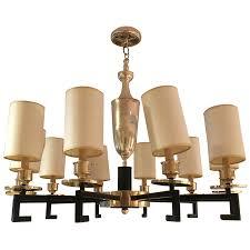 viyet designer furniture lighting vintage art deco style 10 arm chandelier
