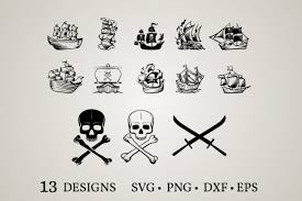 Freesvg.org offers free vector images in svg format with creative commons 0 license (public domain). 1 Pirate Ship Svg Designs Graphics