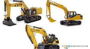 The Latest Models Of Cat Komatsu And Hitachi Hybrid