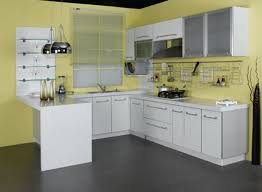 exquisite interior home small kitchen decoration display fetching white painting cabinet set and charming double steinless architecture kitchen decorations delightful pendant kitchen