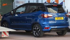 2018 ford ambulance. exellent 2018 ford ecosport gets the stline treatment spied in spain inside 2018 ford ambulance