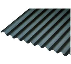 black corrugated roofing sheets