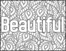 Small Picture Positive Affirmations Coloring Pages for Adults Beautiful