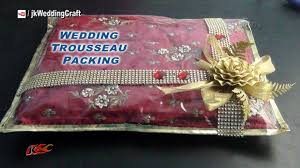 creative gift ng ideas for wedding trousseau how to pack indian dress jk wedding craft 040 you