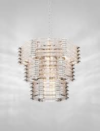 Casa Padrino Luxus Glas Kronleuchter Silber 65 X 65 X H 54 Cm Hotel Möbel