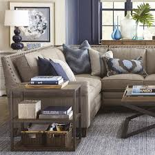 harlan large l shaped sectional living room bassett furniture pertaining to spectacular bassett sectional