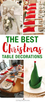Christmas Table Setting The Best Christmas Table Setting Decorations Holiday Home Decor