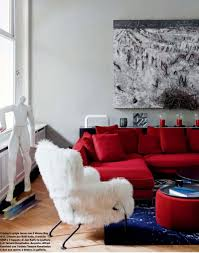 Red And Blue Living Room Comely Teen Boys Room Decorating Ideas With Black Bunk Bed Along