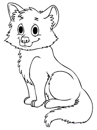 Small Picture Baby Fox Coloring Page Kids Drawing And Coloring Pages Marisa