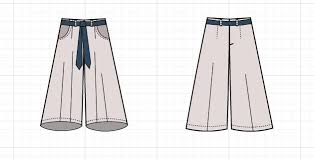 Free Sewing Patterns Pdf Delectable CULOTTES TECHNICAL DRAWING On The Cutting Floor Printable Pdf