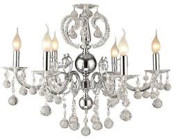 chandelier 6 arms of asfour crystal beads