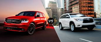 2015 Dodge Durango vs 2015 Toyota Highlander