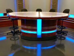 tv studio furniture. Custom Fabrication Gallery Tv Studio Furniture U