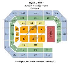 Ryan Center Seating Chart