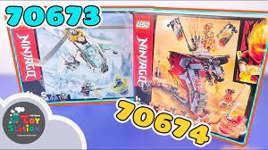 LEGO Ninjago 70673 Shuricopter và 70674 Rắn Lửa Khổng Lồ ToyStation 422 -  YouTube