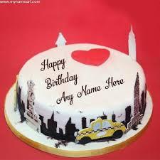 Bday Cake With Name Edit Birthdaycakeforkidscf