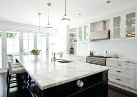 Small Picture Stunning Carrara Marble Kitchen Countertops Images Home