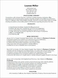 Pharmacy Resume Examples Adorable Sample Pharmacist Resume Sample Resume For Pharmacy Technician