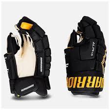 <b>Перчатки хоккейные WARRIOR ALPHA</b> DX4 DX4G9-BKS