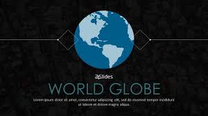 Powerpoint World World Globe Free Powerpoint Template