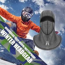 VA  Outdoor <b>Winter</b> Sport Waterproof <b>Thermal</b> Full Face Mask ...