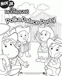 Small Picture Pablo Backyardigans Coloring Pages 2014 Sticky Pictures