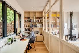 scandinavian home office. Long Crendon Scandinavian-home-office-and-library Scandinavian Home Office