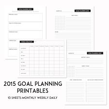 2015 SPT Success Goal Sheets - Sweet Paper Trail