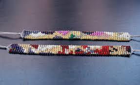 Bead Loom Bracelet Patterns Impressive ☩DIY☩ Bead Loom Bracelet All The Good Girls Go To Heaven
