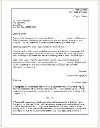 Sample Interview Thank You Letter Examples Samples Free Edit With Word