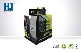 Retail Product Display Stands Condom Cardboard Retail Display Custom POP Paper Display Stand 49