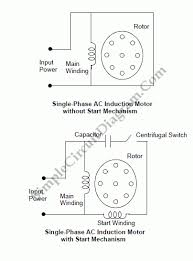 ac motor wiring diagram ac motor wiring diagram single phase ac image single phase 4 pole motor wiring diagram wiring