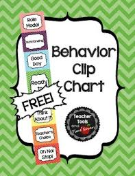 Clip Chart Behavior Management System Behavior Clip Chart Classroom Management Free Cute Chevrons